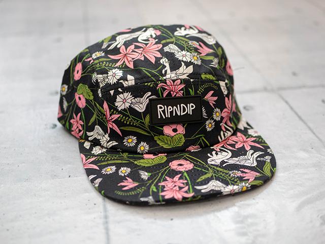 RIPNDIPリップンディップ Nerm Flower 5 Panelcap