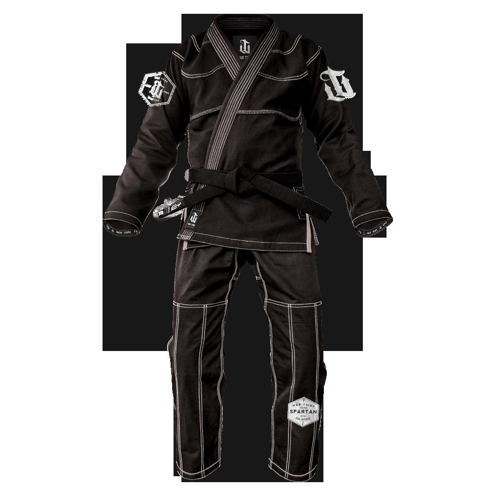 WAR TRIBE GEAR  Spartan Gi ブラック|ブラジリアン柔術衣(柔術着)