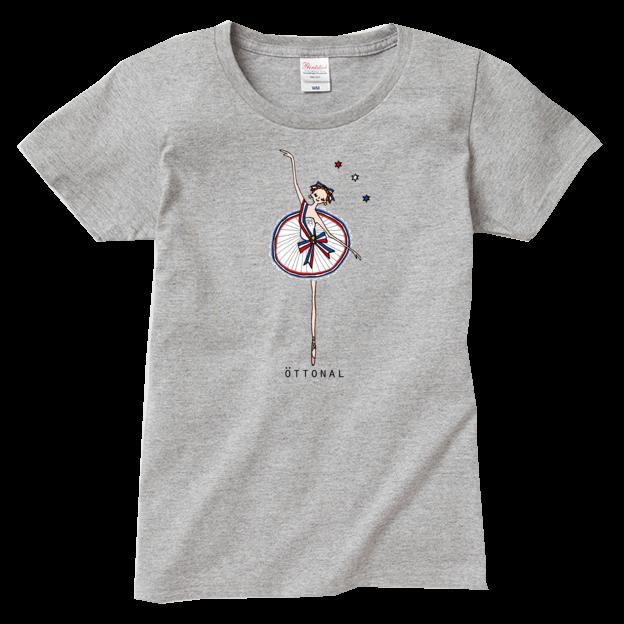 パリの炎 Tシャツ(レディース) - 画像1