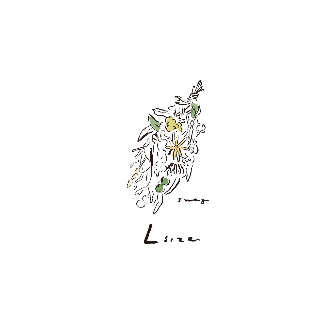 <ORDER MADE> FLOWER SWAG:L