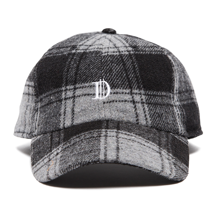 【Deviluse | デビルユース】 Check D Cap(Black×White)