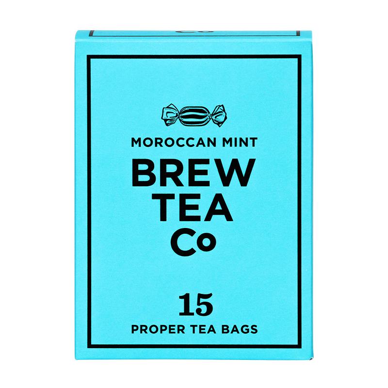 BREW TEA Co. ブリューティーカンパニー tea bag ティーバッグ 15個入り Moroccan Mint モロッカン ミント