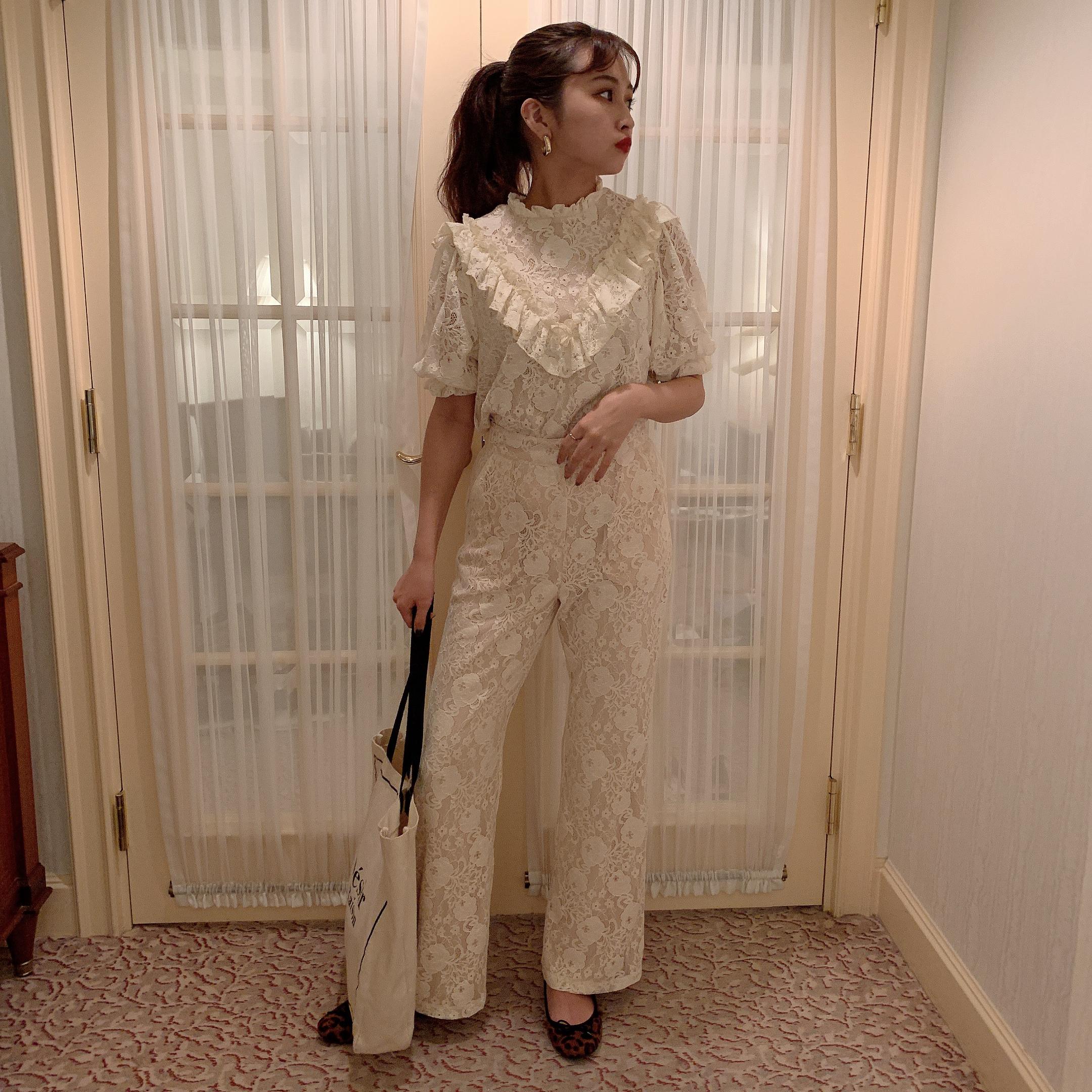 【Désir original】 lace pants