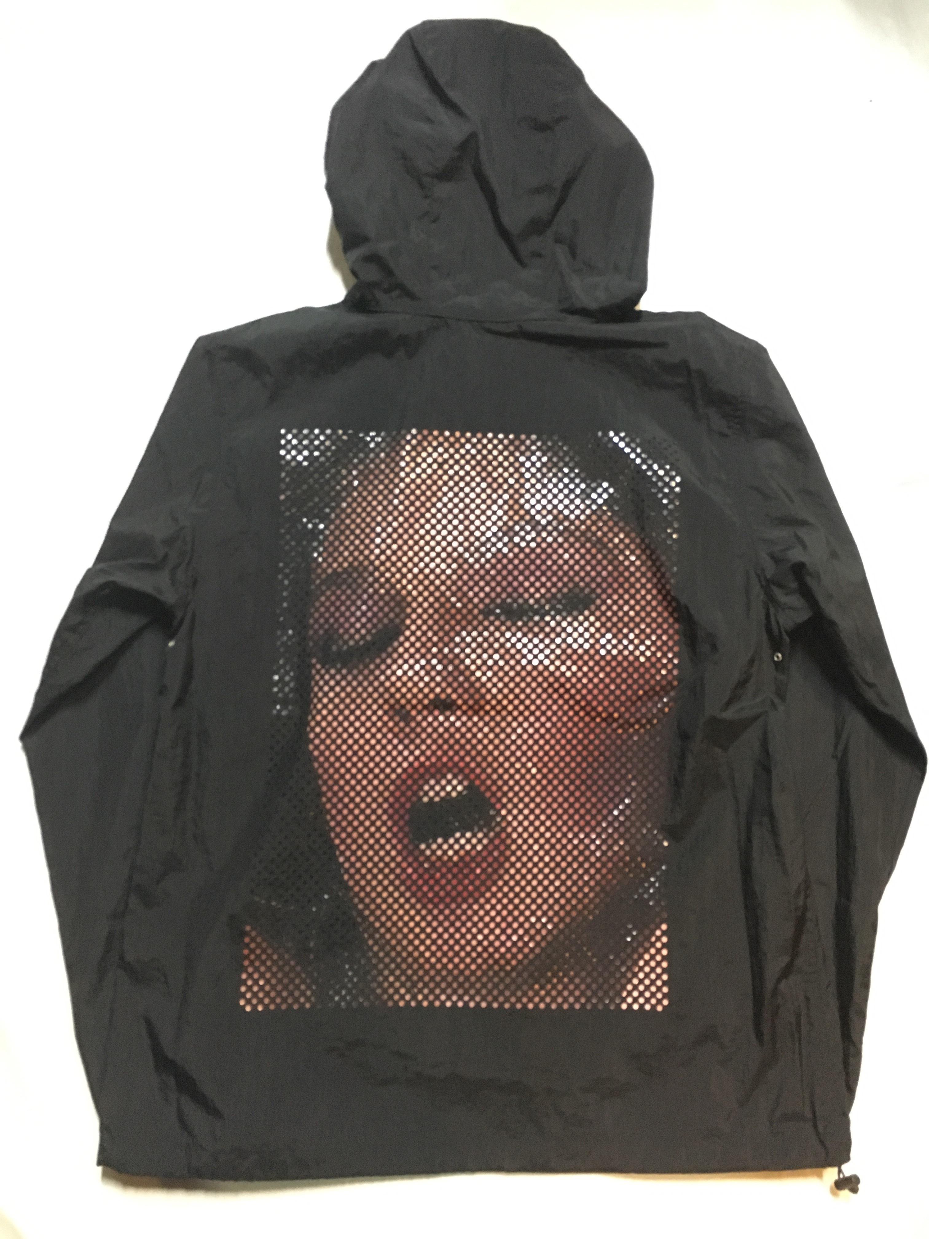 SKIN / nylon hoodie(blk) - 画像2