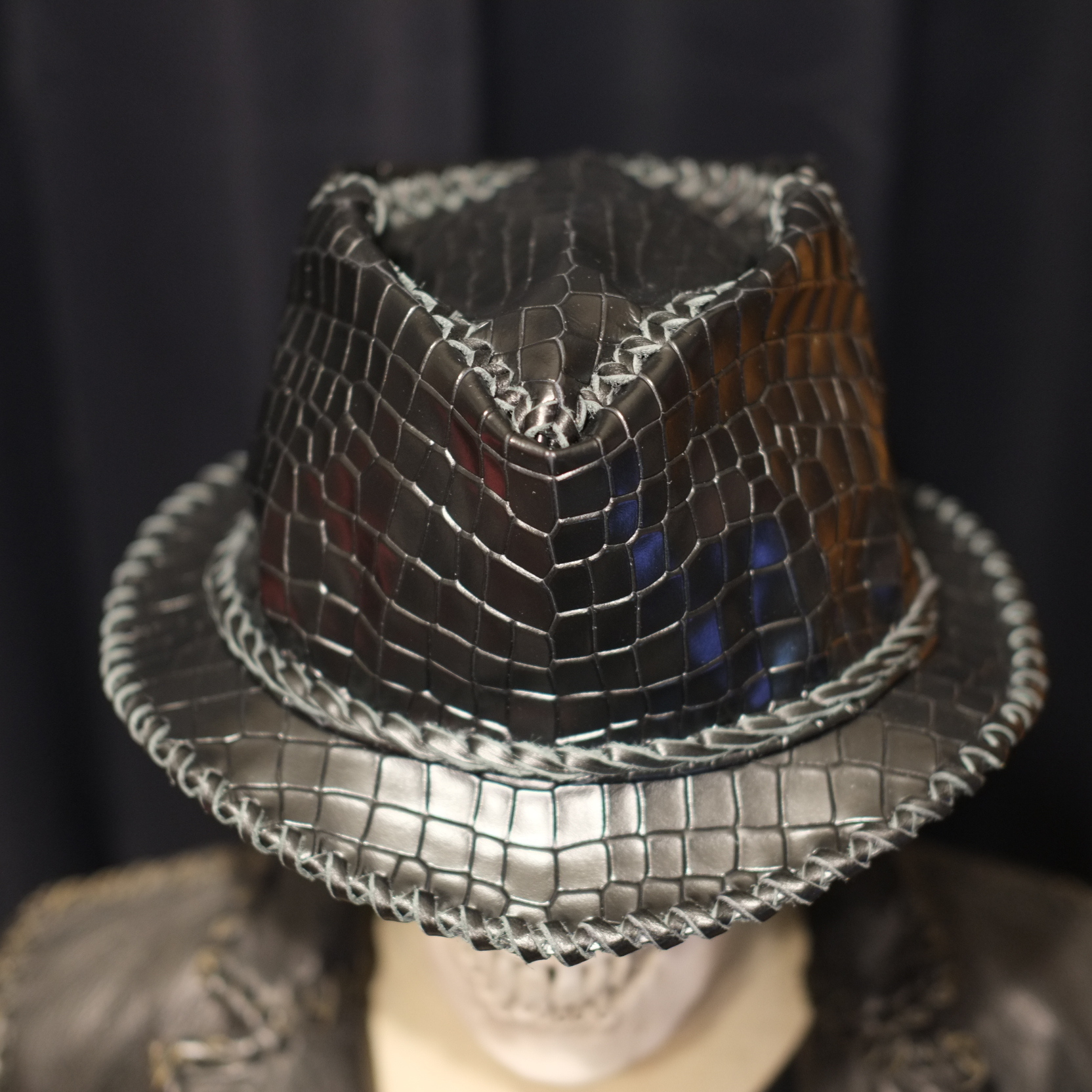 Wild Leather Hat 【 Black The Thing 】ショートブリム・予約受付販売