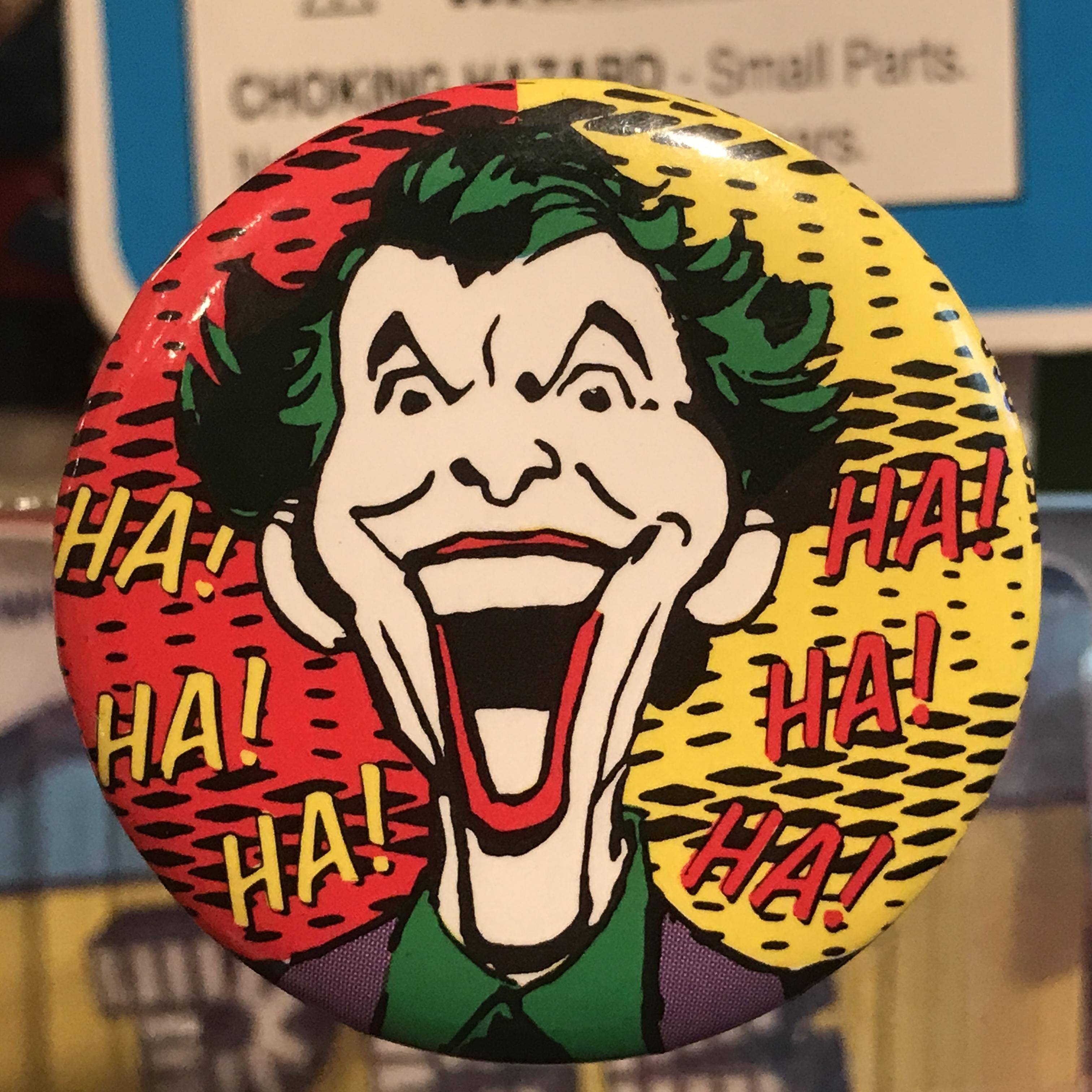 バットマン オールド 缶バッジ ジョーカー(Joker)