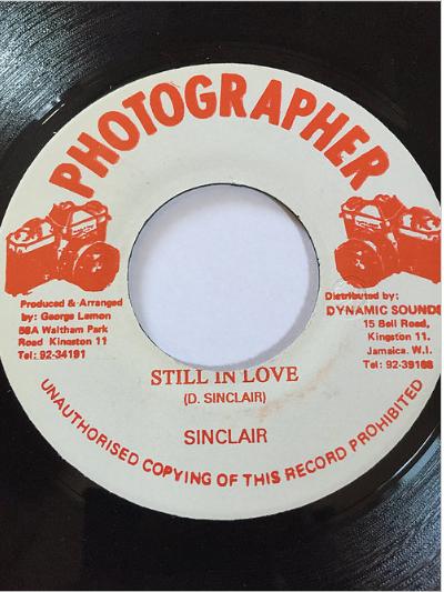 Sinclair(シンクレア) - Still In Love 【7'】