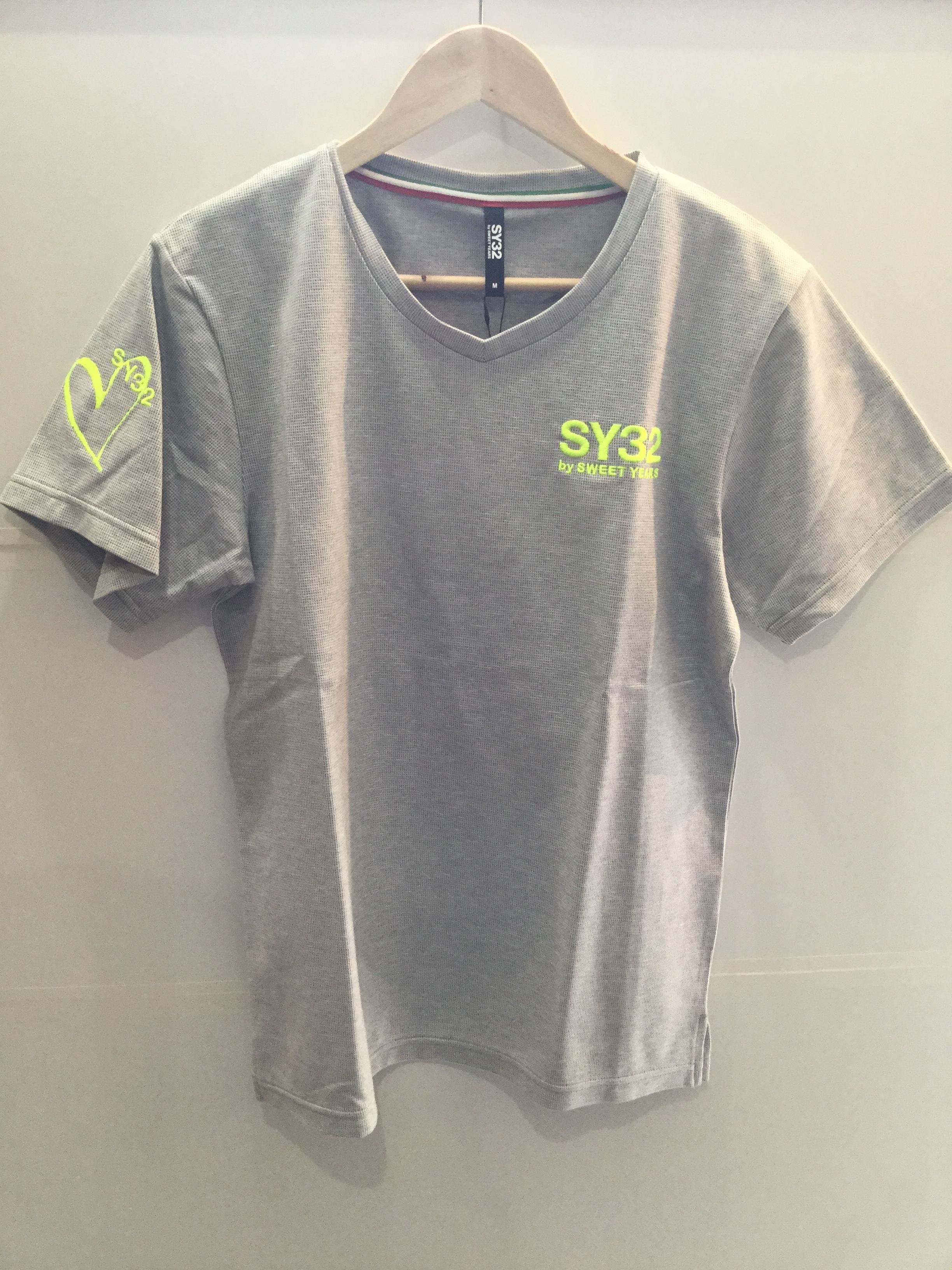 SY32 クールマックスVネックTシャツ(7253)