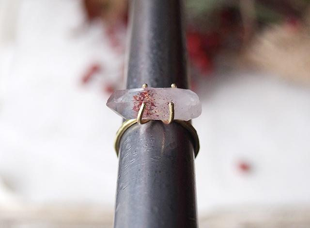 Y様オーダー 原石のリング