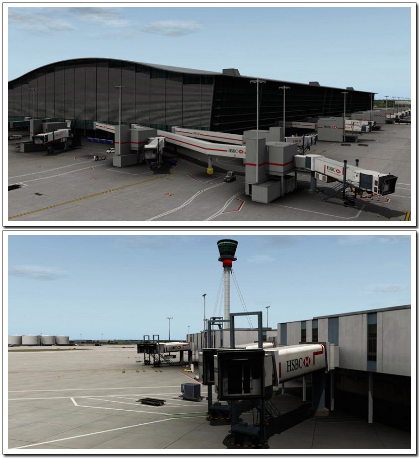 Xプレイン10拡張パック ロンドン・ヒースロー空港