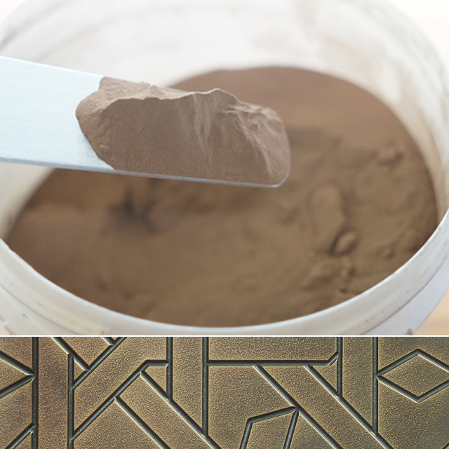 Metal filler Bronze 1kg(メタルフィラーブロンズ 1kg) - 画像1