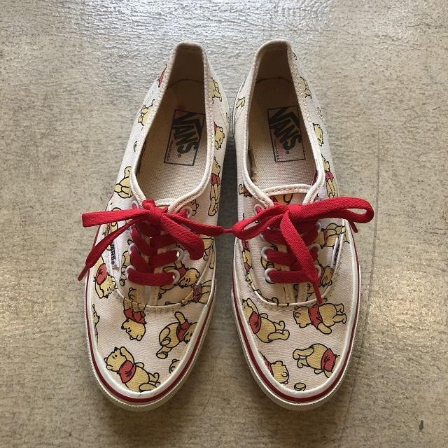 Vans Authentic Usa Disney Pooh