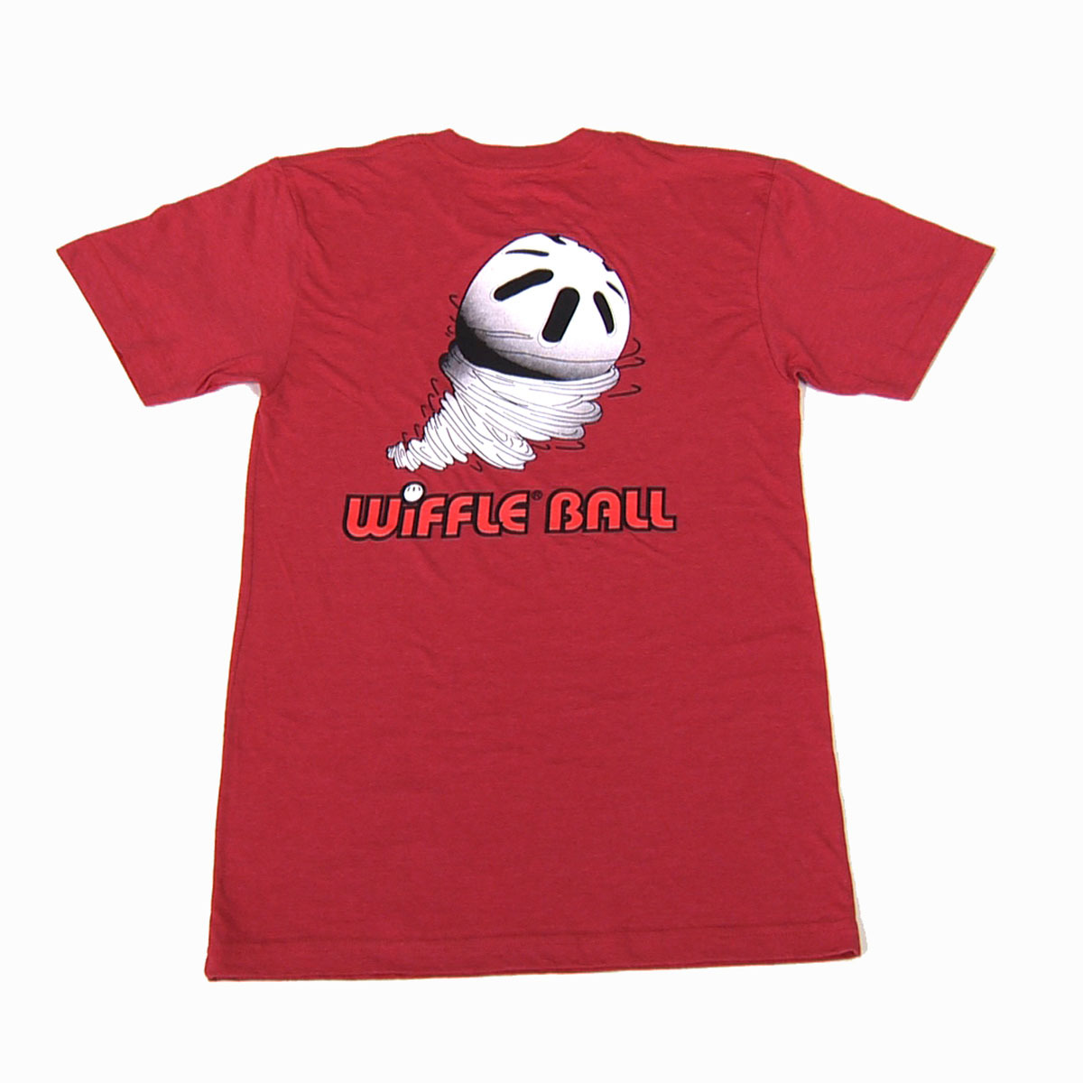 ウィッフルボール ロゴ入り Tシャツ スクリューボール レッド WIFFLE Ball