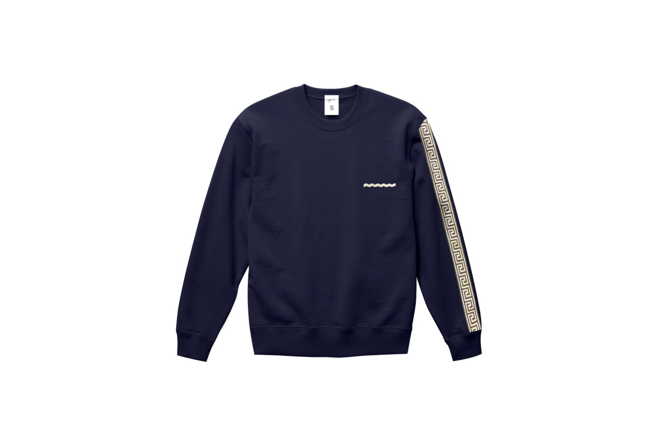 coguchi Clogo long line sweat (NVY)
