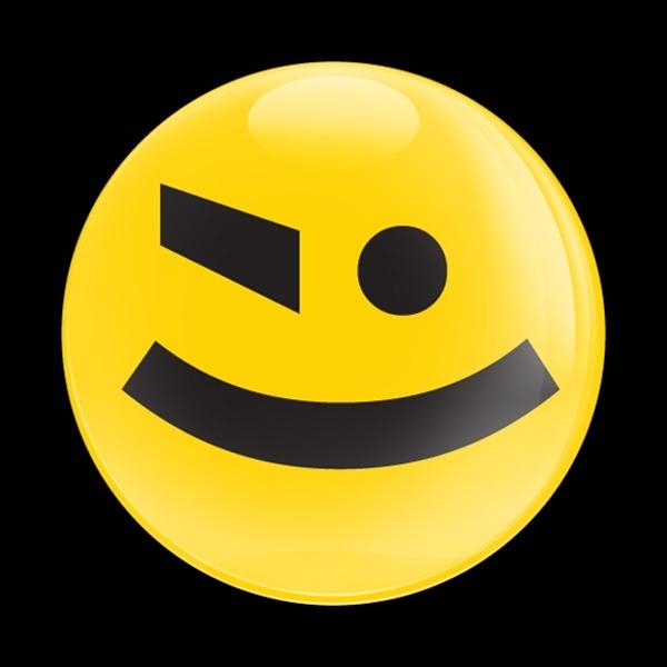 ゴーバッジ(ドーム)(CD0515 - TYPE FACE 02) - 画像1