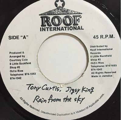 Tony Curtis(トニーカーティス) & Jigsy King(ジグシーキング) - Rain From The Sky【7'】