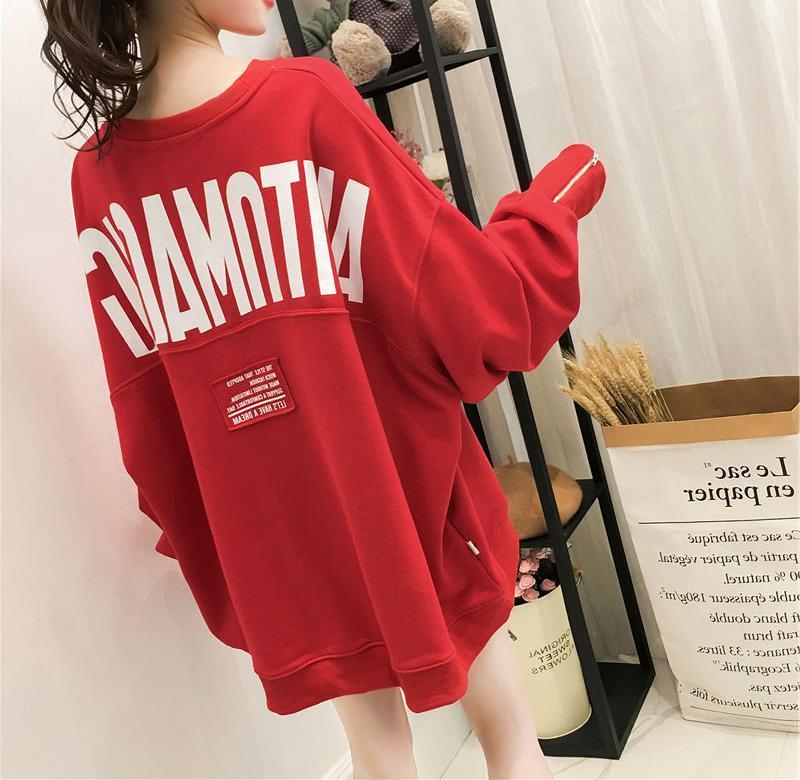 【tops】アルファベットゆったりラウンドネックTシャツ26705871