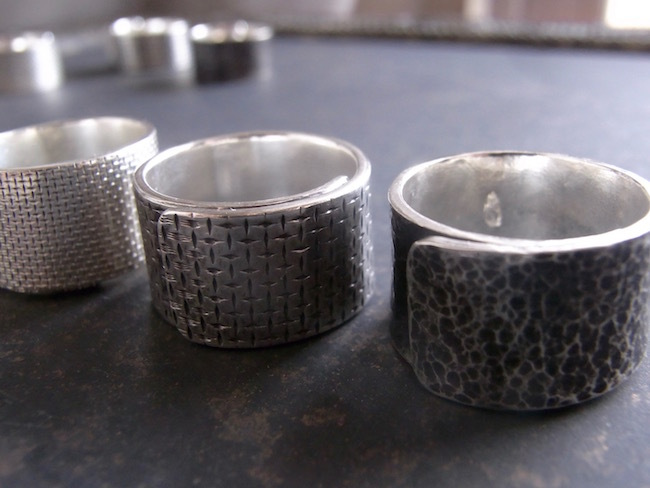 Pure Silver (純銀)リング/幅12mm/ *即納可