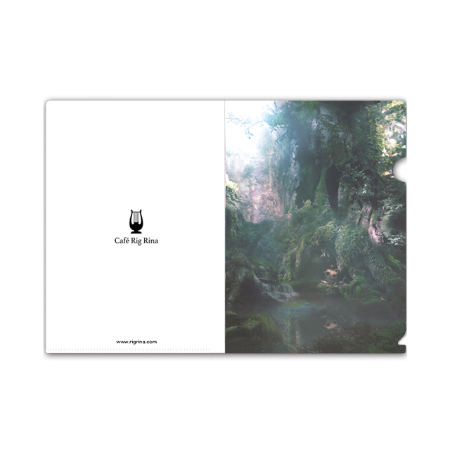 【Rain Garden】クリアファイル