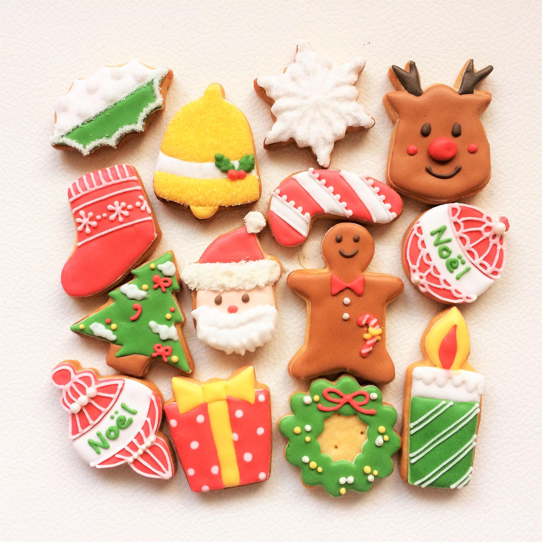 アイシングクッキークリスマスセット