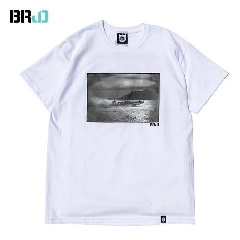 BRJD TEE #2 - WHITE/MONOCHROME