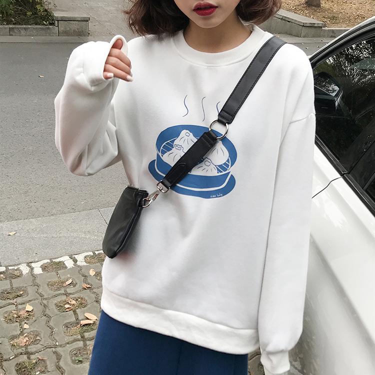 おいしいご飯のパステルセーター【delicious lunch pastel sweater】