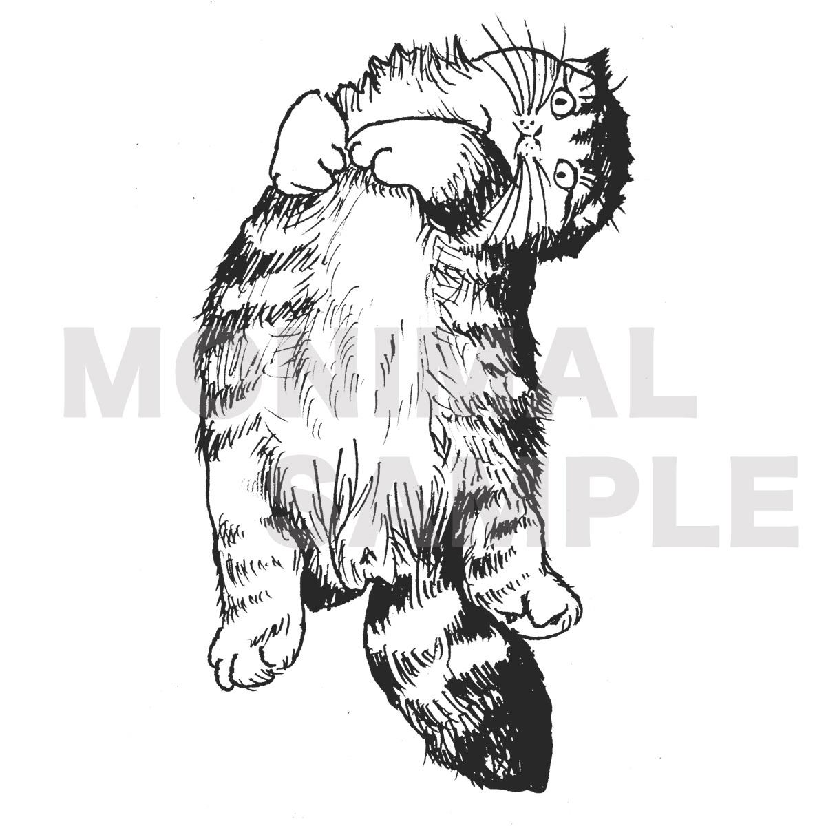 ペンイラスト猫エコバッグ【pen cat あまえんぼ猫】 | 猫グッズ・猫