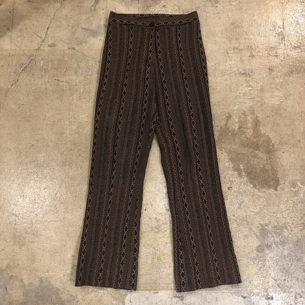 Ethnic Flare Pants ¥6,400+tax