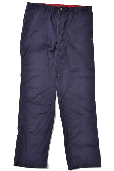 Ralph Lauren sizeM 90s wide pants/cotton vintage polo