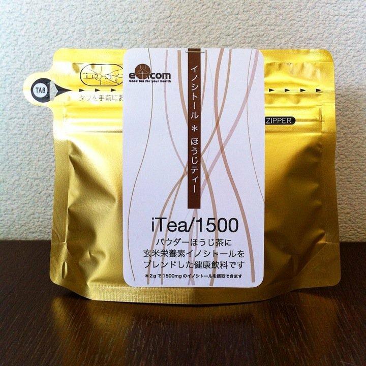 【ミトコンドリア活性を高め代謝を良くしたい】イノシトールほうじティー/iTea1500(粉末タイプ)