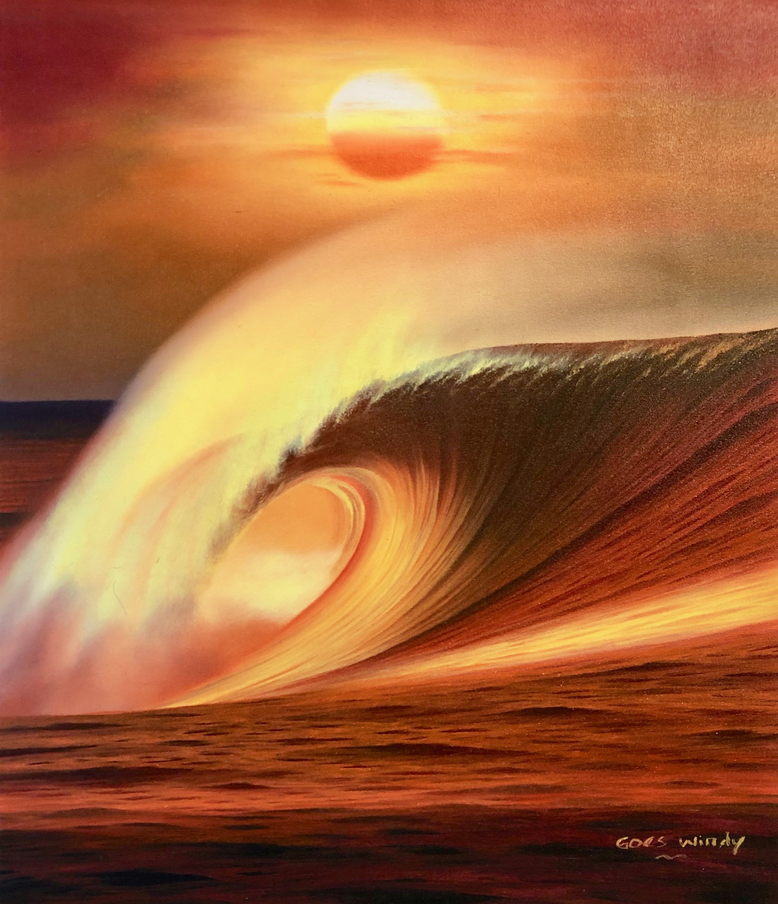 Dreamland Wave Art F10