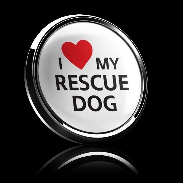 ゴーバッジ(ドーム)(CD1077 - I LOVE RESCUE DOG) - 画像4