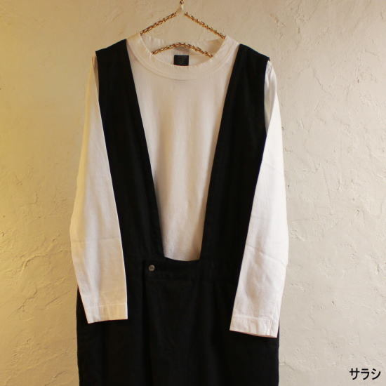 homspun (ホームスパン) 天竺長袖Tシャツ 全2色 6616 - 画像2