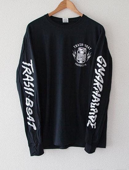 【TRASH BOAT】Gnarmalade Long Sleeve (Black)