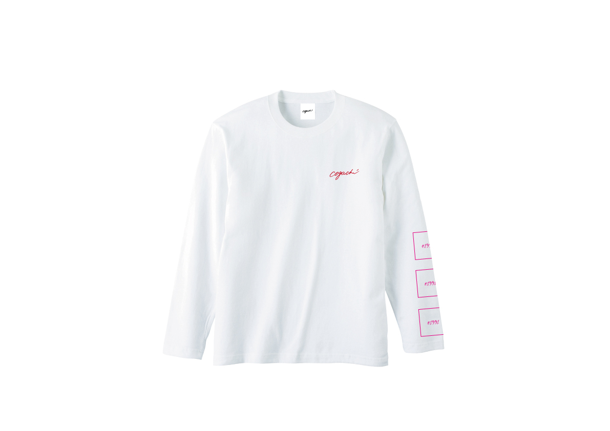 1991 Long T-shirt(wht/red)