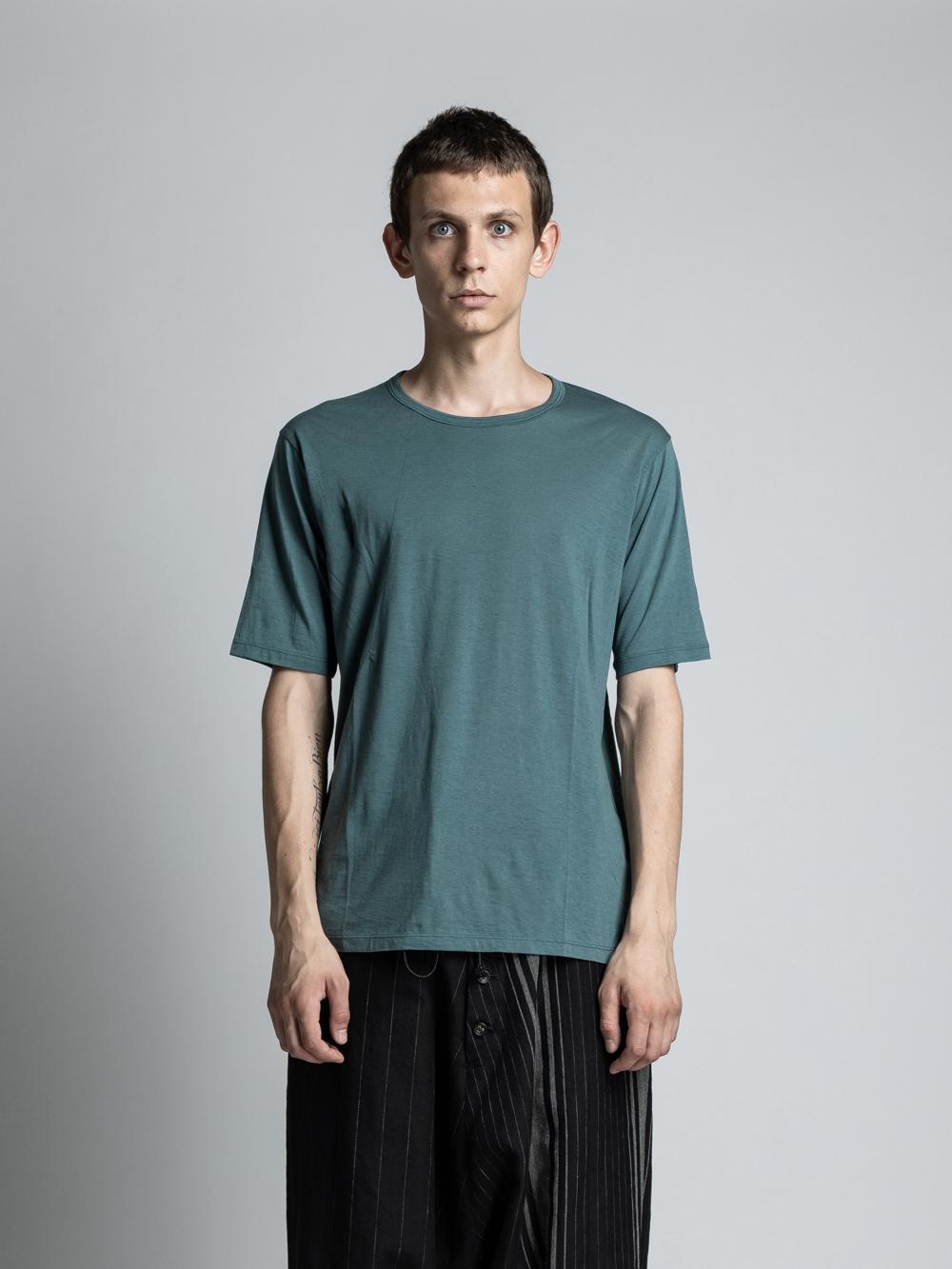 VI-3226-01 / コットンカシミア半袖Tシャツ