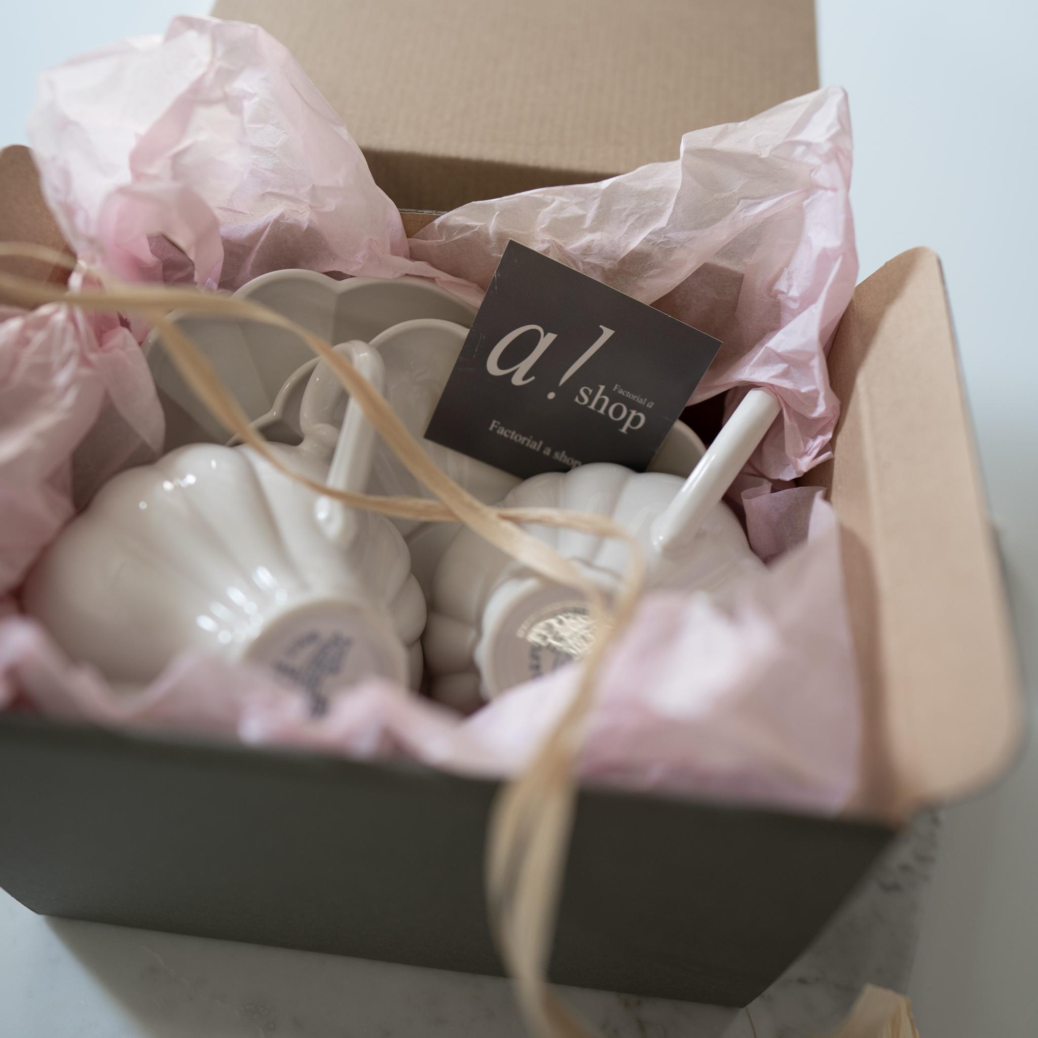ギフトセット ルブケ ティーカップ &ソーサー  2セット  BOX入(Le Bouquet)