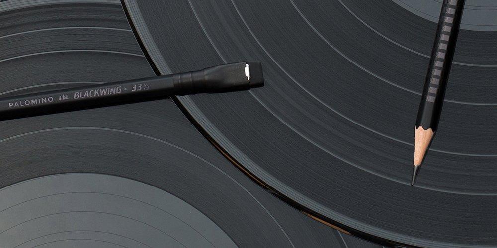 蘇った伝説の鉛筆 BLACK WING 33 1/3  Vinyl リミテッド 1ダース  箱入り