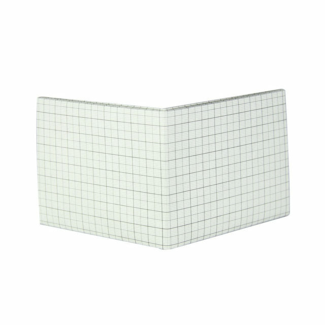 LIXTICK PAPER WALLET – GRAPH (GREY) / LIXTICK
