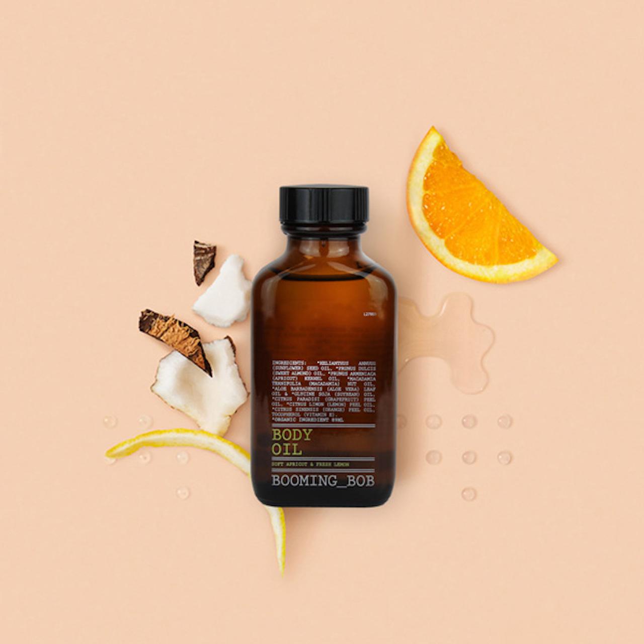 """ BOOMING_BOB organic Body oil / ブーミングボブ オーガニックボディオイル【フレッシュレモン】89ml """