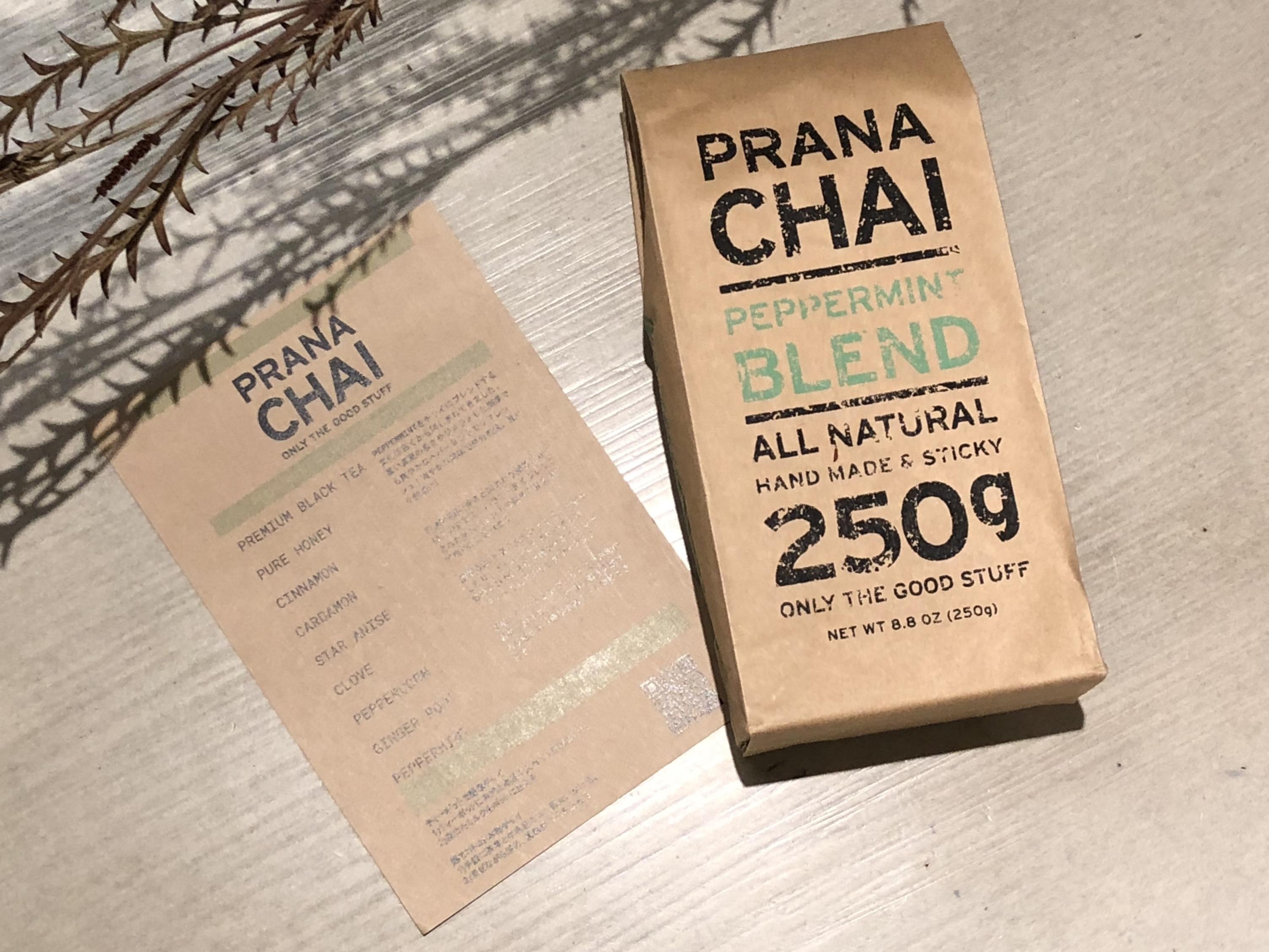 PRANA CHAI プラナチャイ PEPPERMINT BLEND 250g