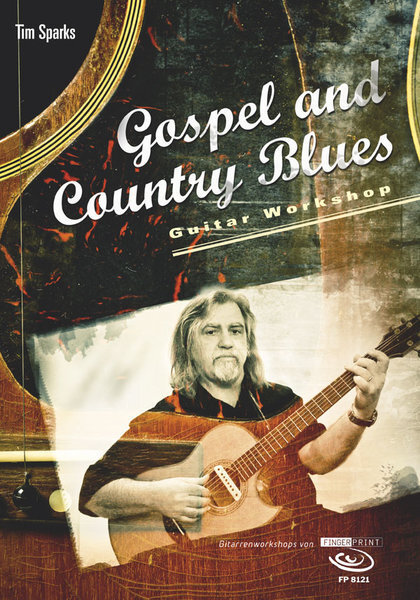 AMB8121 Gospel and Country Blues / Tim Sparks (TAB譜+DVD)