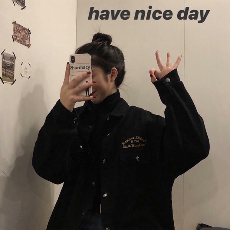 【送料無料】 バックデザインがおしゃれ♡ メンズライク オーバーサイズ レトロ シャツ ジャケット