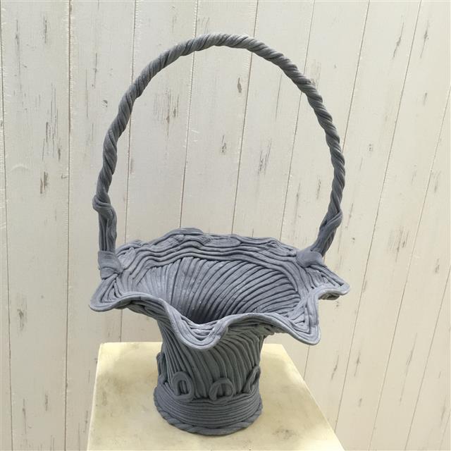 綱木紋バスケット スター - 画像1
