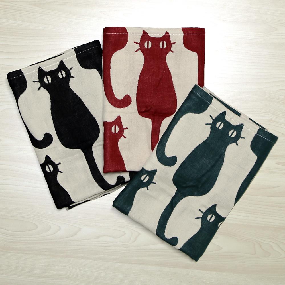 猫バスタオル(インテリア猫)全3種類