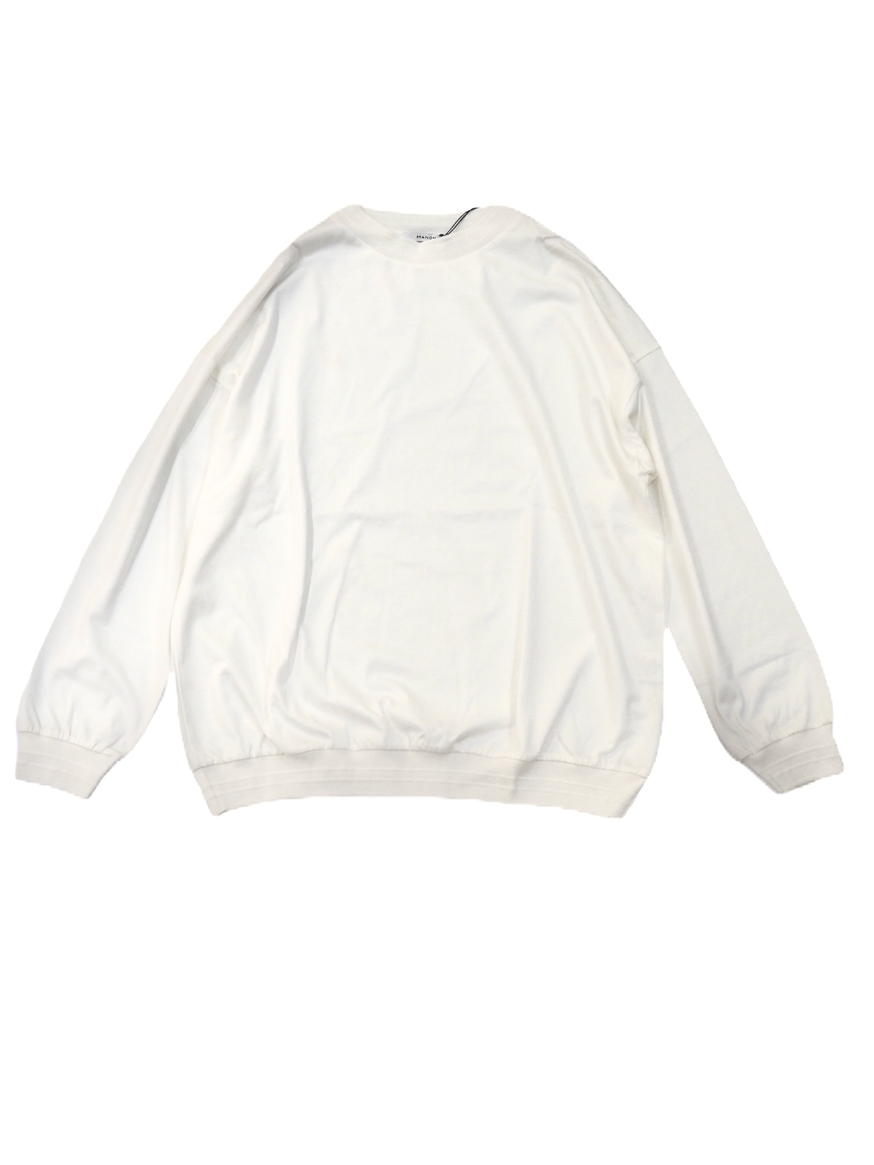 【MANON】LONG SLEEVE RIB TEE