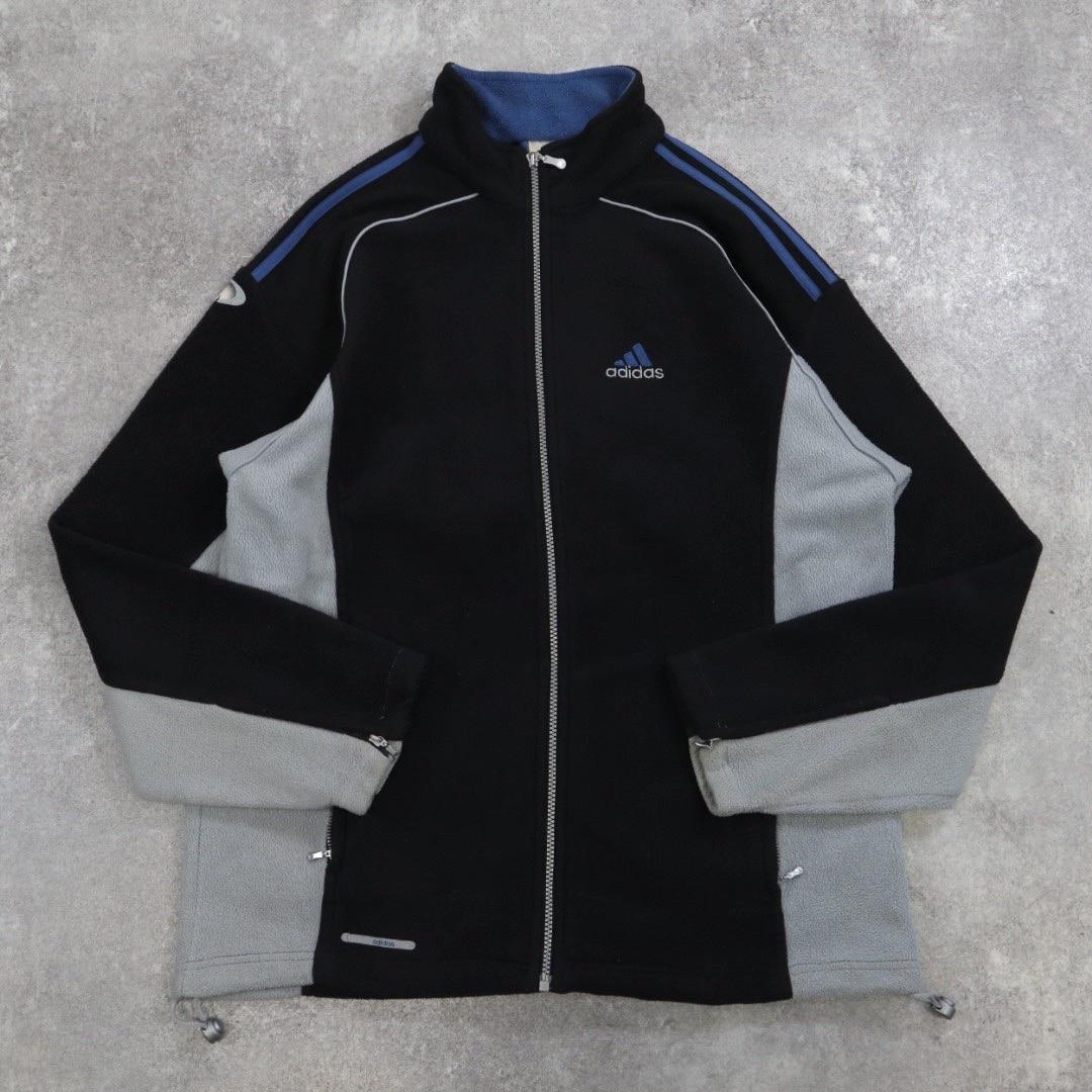 adidas full zip fleece jacket