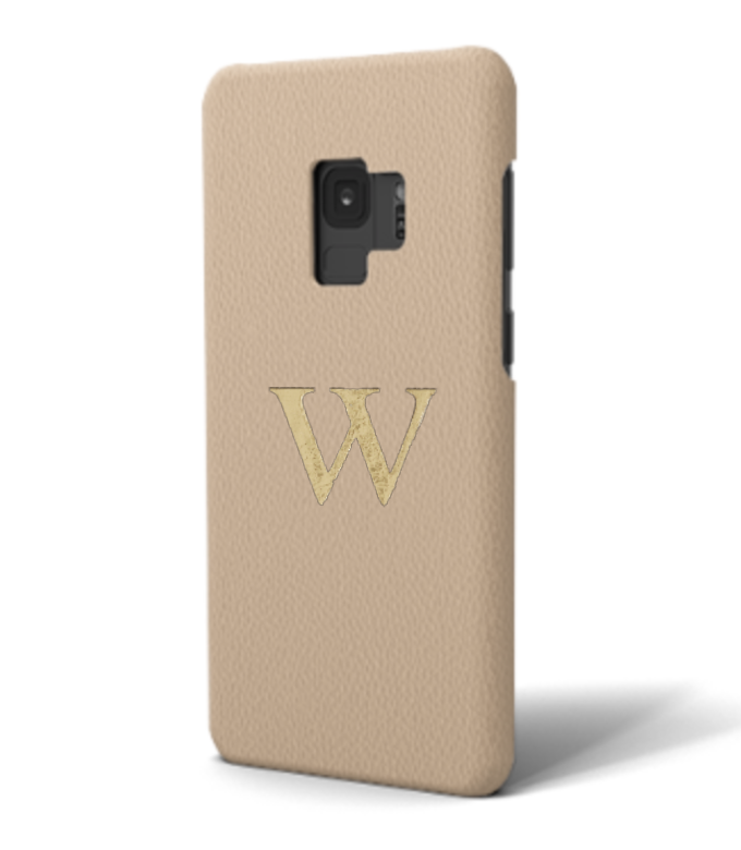 Galaxy Premium Smooth Leather Case (Nude)