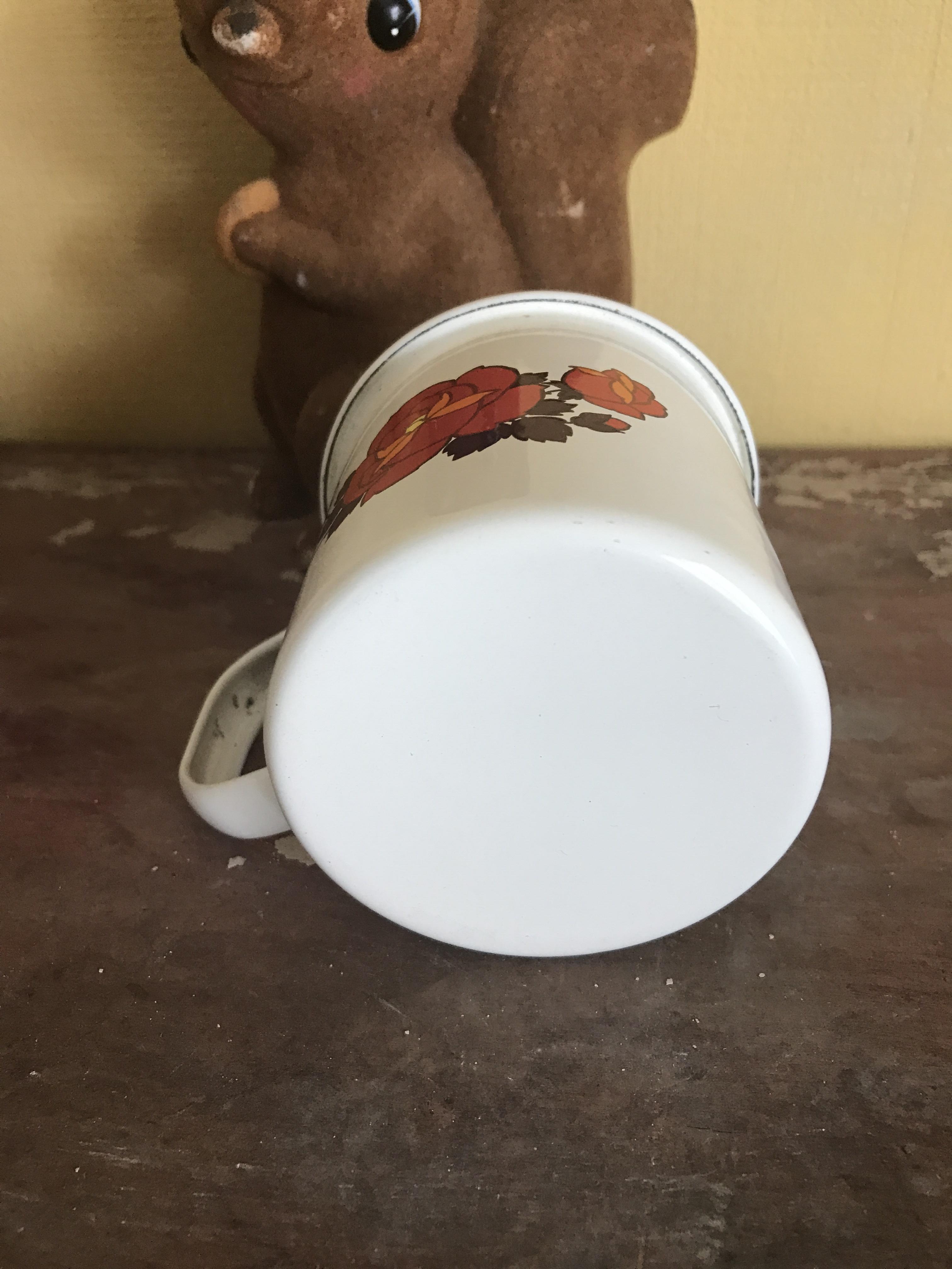 レトロ ホウロウ マグカップ