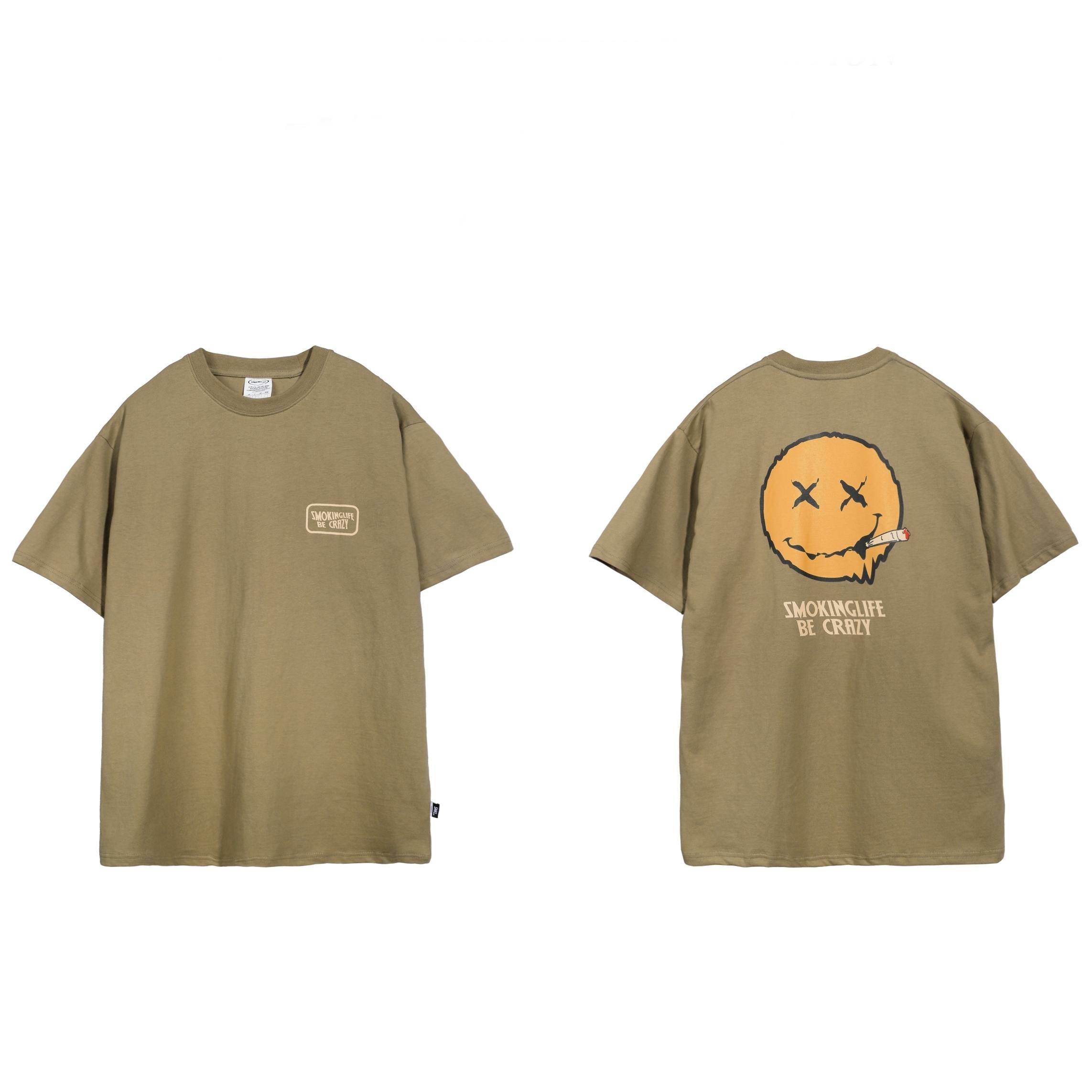 カジュアル ショートスリーブ 半袖 Tシャツ 【UNISEX/4colors】